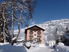 Hotel Cresta im Winter