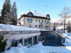 Hotel Cresta im Winter