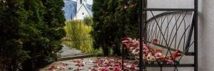 Herbststimmung im Frischluft-Wellness-Gärtli Hotel Cresta Flims