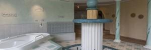 Kneippbecken im Wellness-Bereich Hotel Cresta