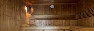 Sauna im Hotel Cresta in Flims