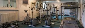 Fitnessraum im Hotel Cresta in der Weissen Arena