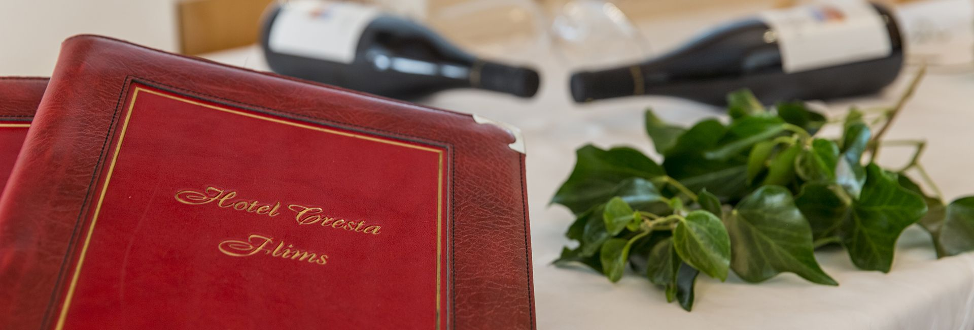 Kulinarik im Hotel Cresta Flims