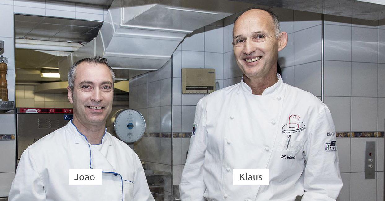 Küchencrew Hotel Cresta Flims