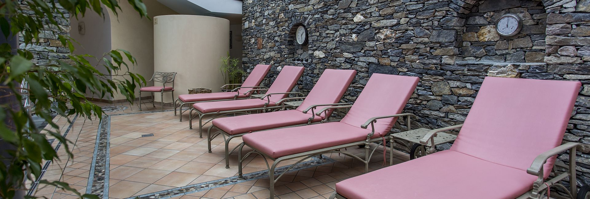 Ruheraum im Wellness Bereich Hotel Cresta Flims