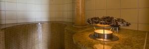 Kräuterdampfbad im Schweizer Wellness Hotel Cresta Flims