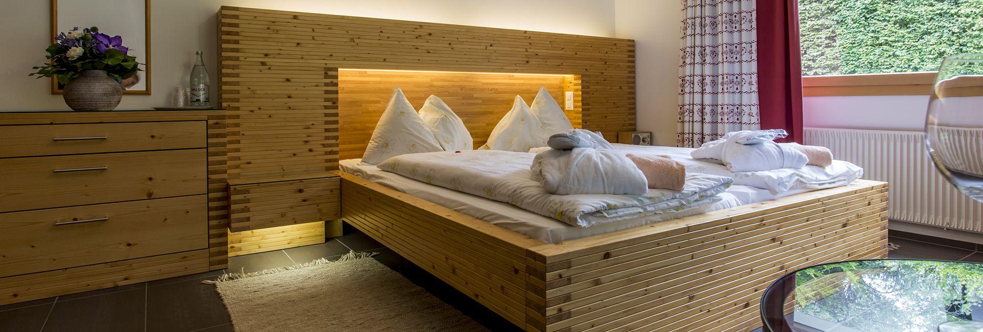 Zimmer in der Casa Juliana im Hotel Cresta Flims
